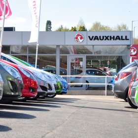 Vision Vauxhall Stafford Completes Used Car Forecourt regeneration project