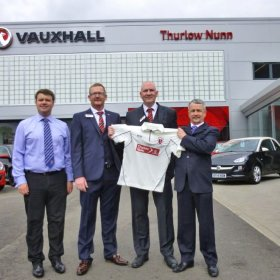 Thurlow Nunn Milton Keynes Sponsors the Cricket!