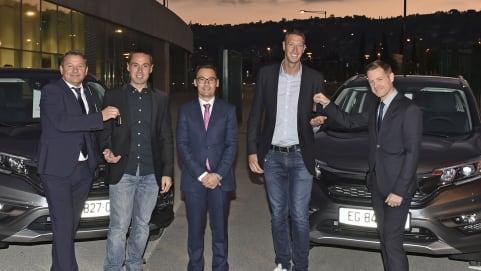 Partenariat entre Cavallari et Alain Bernard, Sébastien Gimbert