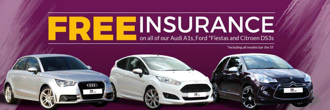 Free Insurance on A1s, Fiestas, and DS3s
