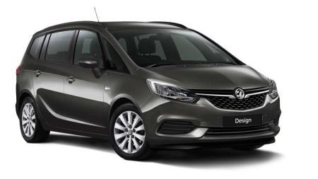 New Vauxhall Zafira Tourer Design